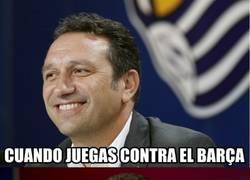 Enlace a El entrenador de la Real al ver que no podrán ganarle al Barça