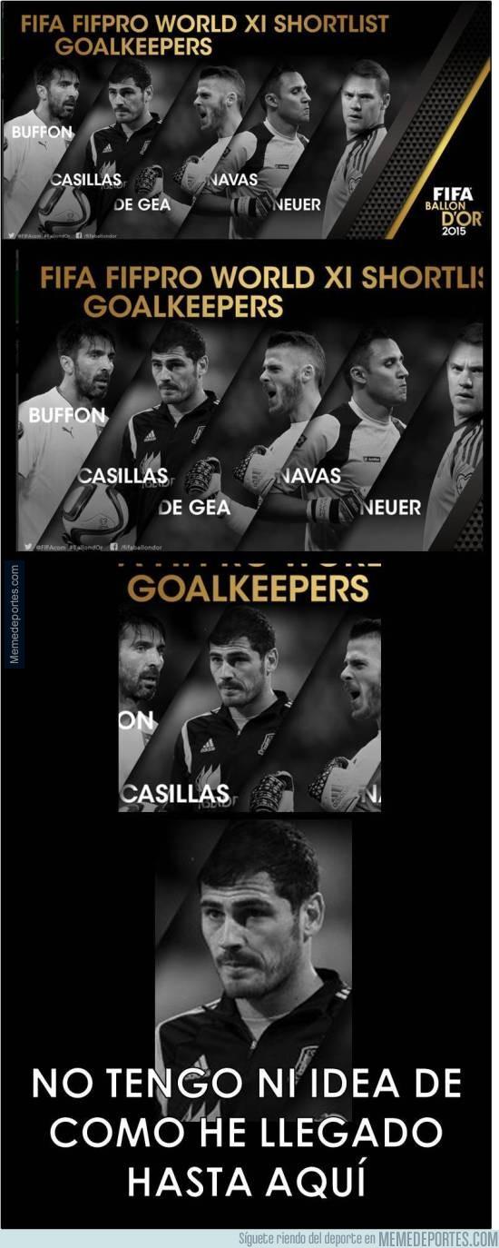 744135 - Casillas está desorientado