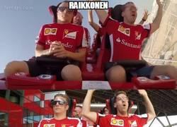 Enlace a Raikkonen se lo pasa en grande