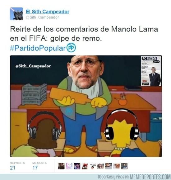 744666 - Rajoy repartiendo golpes de remo, por @Sith_Campeador