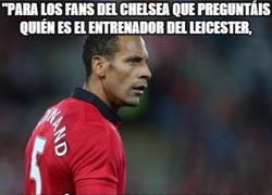 Enlace a Mensaje de Ferdinand a los fans del Chelsea