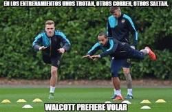 Enlace a Walcott y sus entrenamientos