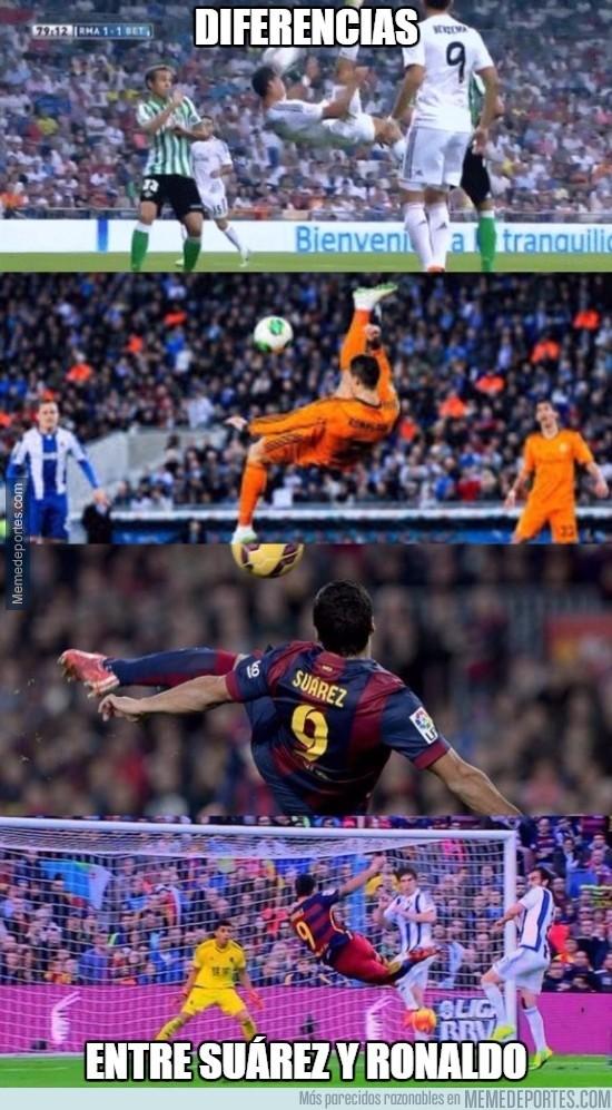 745823 - Diferencias entre Luis Suárez y Cristiano Ronaldo