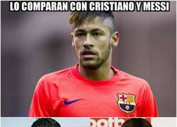 Enlace a Neymar está que se sale, pero aún le falta para poder compararse a estos dos