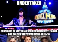 Enlace a ¿Igualarán a Undertaker?