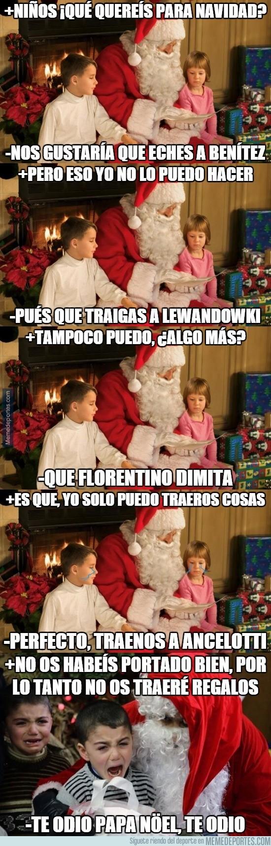 746239 - Los madridistas pidiendo cosas a Papa Noel