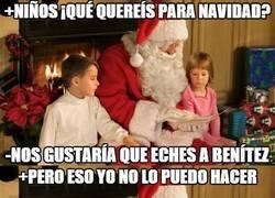 Enlace a Los madridistas pidiendo cosas a Papa Noel