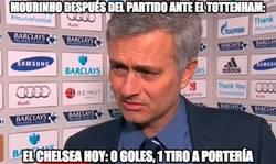 Enlace a Mourinho ha visto otro partido