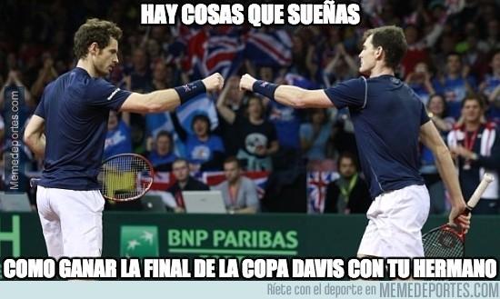 746338 - Enorme Gran Bretaña ganando la Copa Davis 79 años después