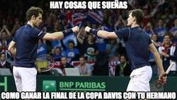 Enlace a Enorme Gran Bretaña ganando la Copa Davis 79 años después