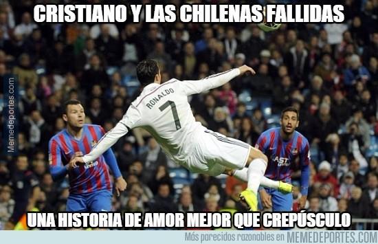 746437 - Cristiano y las chilenas fallidas