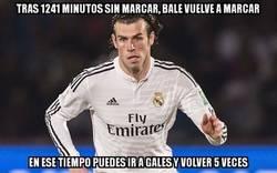 Enlace a Fin a la sequía goleadora de Bale