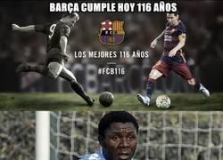 Enlace a El Barça está de cumpleaños