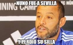 Enlace a Nuno fue a Sevilla