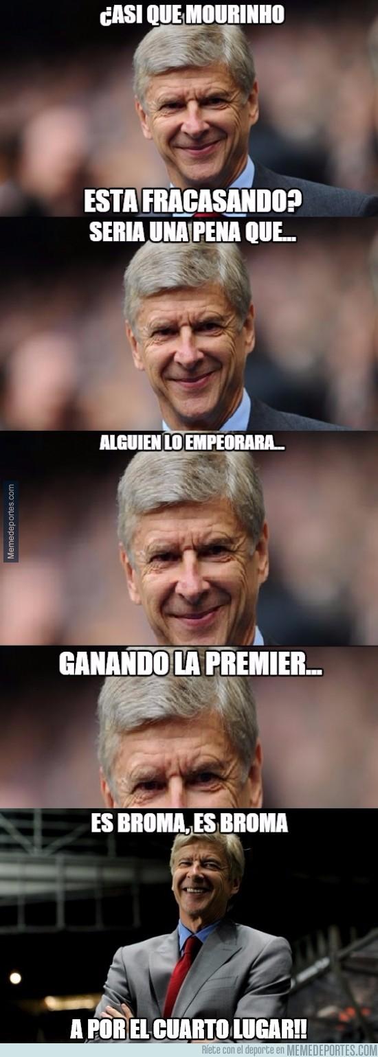 747215 - Wenger a Mourinho