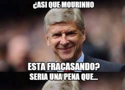 Enlace a Wenger a Mourinho