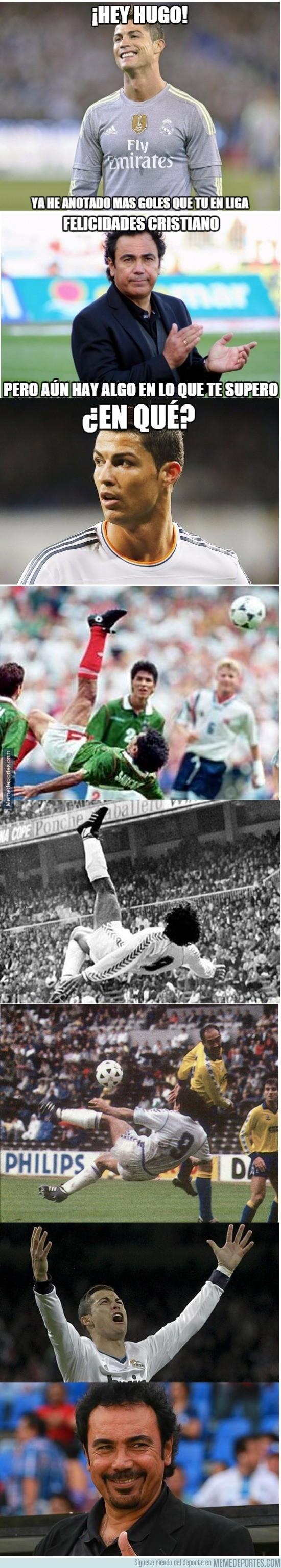747226 - Hay algo en lo que Cristiano jamas superará a Hugo Sánchez