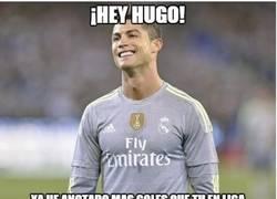 Enlace a Hay algo en lo que Cristiano jamas superará a Hugo Sánchez