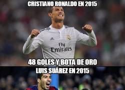 Enlace a ¿Seguro que Cristiano ha hecho menos méritos que Suárez?