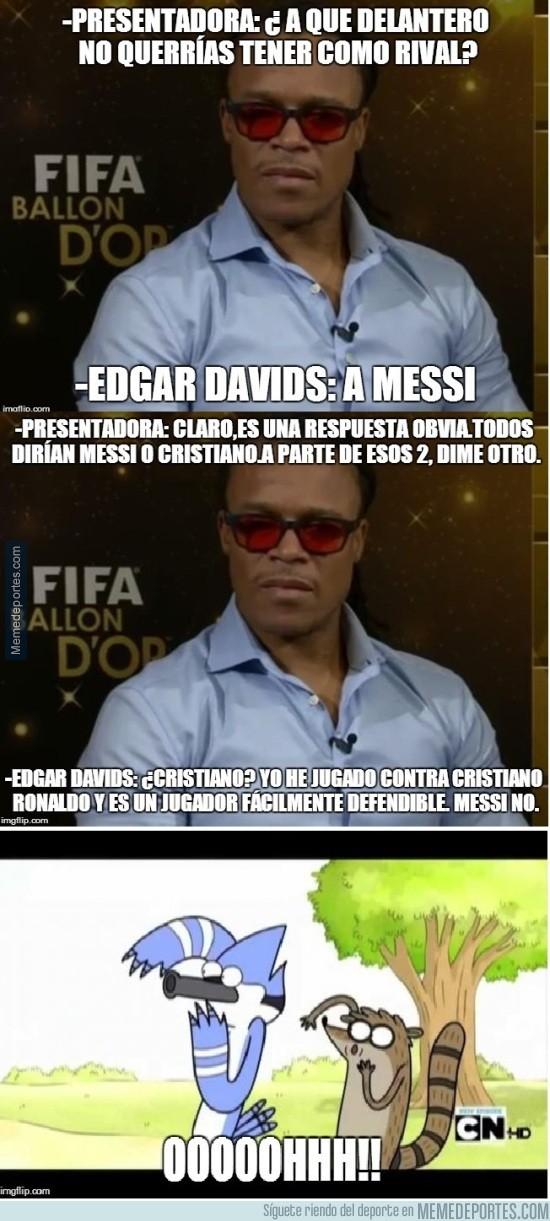 747810 - Edgar Davids retando a Cristiano