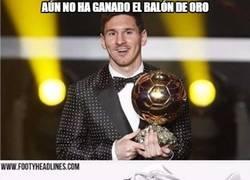 Enlace a Botas blancas para celebrar el próximo Balón de Oro de Messi