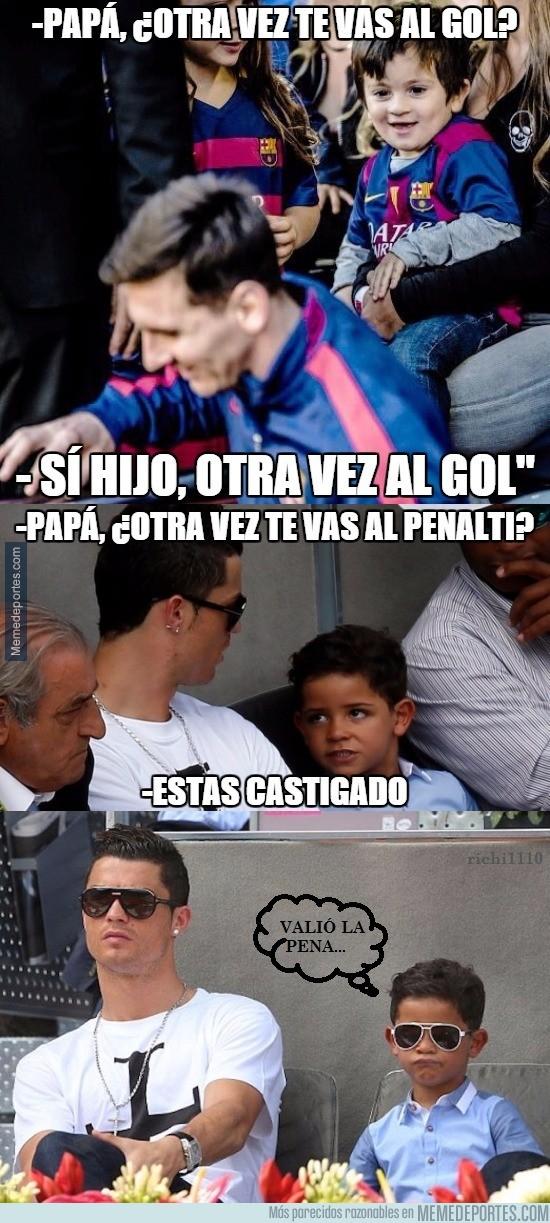 748004 - Cristiano Ronaldo Jr es un bromista