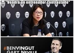 Enlace a Gran política la del Valencia...