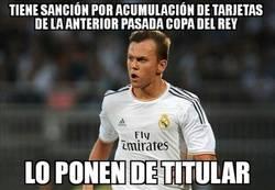 Enlace a Alineación indebida del Real Madrid. ¡OJO!