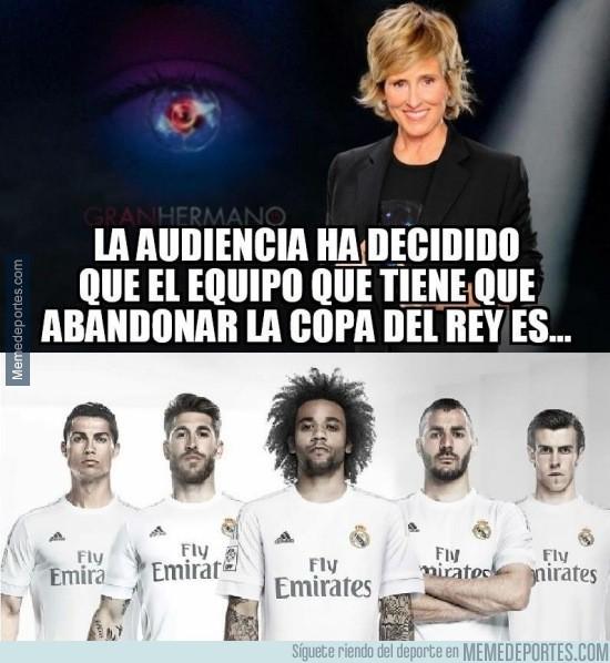 750416 - OFICIAL: Real Madrid FUERA de la Copa del Rey por alineación indebida de Cheryshev