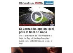 Enlace a Mientras tanto, el Sport hurgando en la herida a los madridistas...