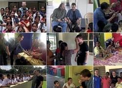Enlace a Jorge Lorenzo ayudando en África. #Respect