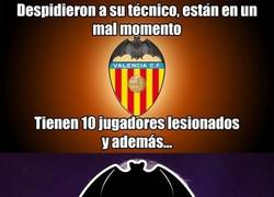 Enlace a La mala suerte del Valencia