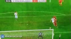 Enlace a GIF: El gol de Ribery que vuelve de excelente forma después de pasar un largo tiempo fuera