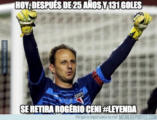 752652 - A los 42 años, se retiró Rogério Ceni, el histórico portero goleador del San Pablo
