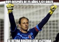 Enlace a A los 42 años, se retiró Rogério Ceni, el histórico portero goleador del San Pablo