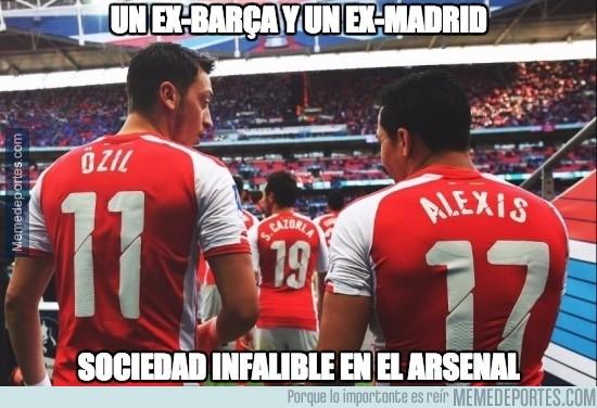 752848 - Özil y Alexis, la gran dupla del Arsenal