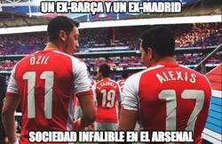 Enlace a Özil y Alexis, la gran dupla del Arsenal