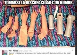 Enlace a Tomarse la discapacidad con humor, Xavi Torres es un grande