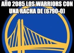 Enlace a Así se terminará la racha de los Warriors