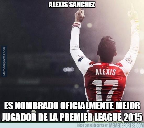 753177 - Los aficionados recompensan el trabajo de Alexis en la Premier