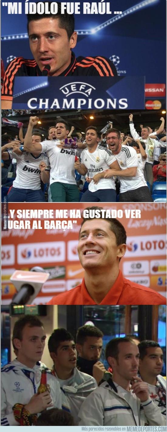 753336 - Lewandowski trolleando a los del Madrid
