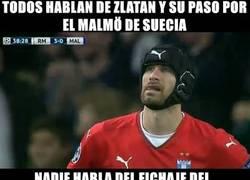 Enlace a Petr Cech ha fichado por el Malmö