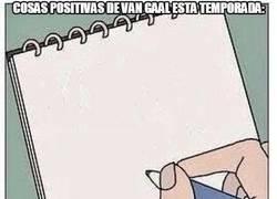 Enlace a La libreta de Van Gaal esta temporada