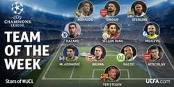 Enlace a El XI ideal de la jornada 6 de la Champions League ¡Apareció Hazard!