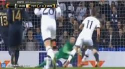 Enlace a GIF: Doblete de Lamela para los Spurs. ¡Golazo!