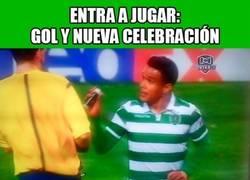 Enlace a Las ocurrencias de Teogol quitándole el spray al árbitro para celebrar el gol
