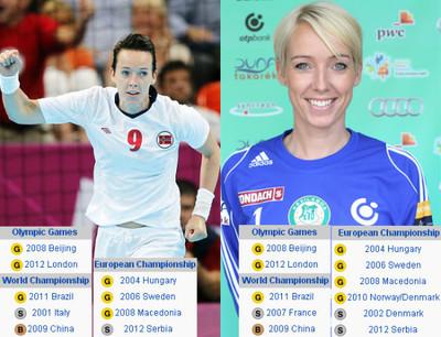 756247 - LISTA: En el balonmano femenino noruego las parejas de hermanas están de moda