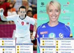 Enlace a LISTA: En el balonmano femenino noruego las parejas de hermanas están de moda