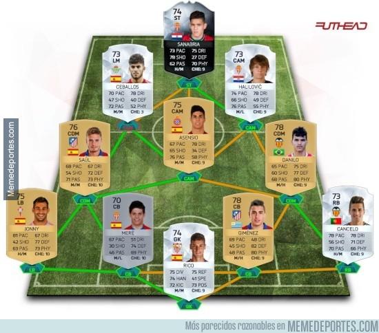 756559 - El XI de los jugadores con mayor proyección en la Liga BBVA