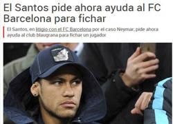 Enlace a El Santos le pide ayuda al Barça